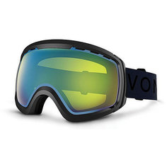 Маска для сноуборда Von Zipper Feenom Nls Black Gloss/Yellow Chrome