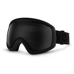 Маска для сноуборда Von Zipper Feenom Nls Black Satin/Blackout