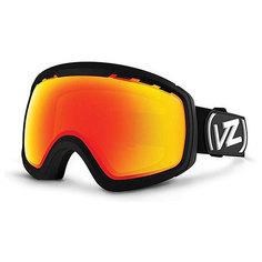 Маска для сноуборда Von Zipper Feenom Nls Black/Fire Chrome