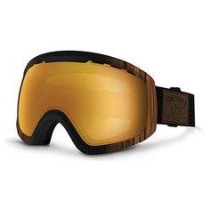 Маска для сноуборда Von Zipper Feenom Nls Walnut Wood/Copper Chrome