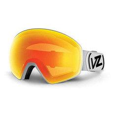 Маска для сноуборда Von Zipper Jetpack White Satin/Fire Chrome