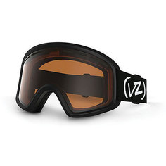 Маска для сноуборда детская Von Zipper Trike Black Satin/Persimmon