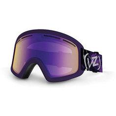 Маска для сноуборда детская Von Zipper Trike Wopushy Violet/Meteor Chrome