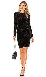Платье с длинным рукавом bloomsbury - Ganni