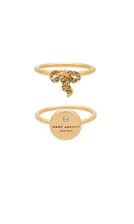 Кольцо с подвесом - Marc Jacobs