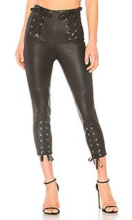 Кожаные брюки nilda - Marissa Webb
