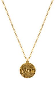 Ожерелье с подвесками oui - Natalie B Jewelry