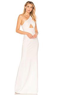 Вечернее платье с вырезом халтер scorpio - NBD