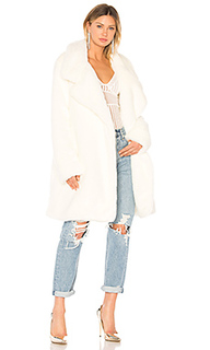 Пальто из искусственного меха - Norma Kamali