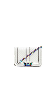 Сумка chevron quilted small love - Rebecca Minkoff
