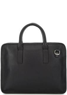 Кожаная сумка с отделением для ноутбука Cerruti 1881