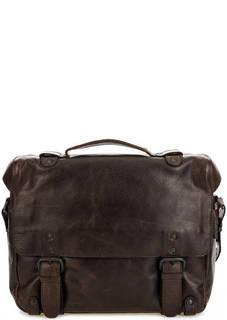 Кожаная сумка с откидным клапаном Aunts & Uncles