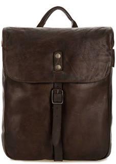 Кожаный рюкзак с откидным клапаном Aunts & Uncles