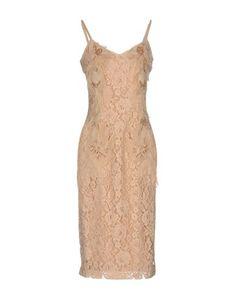 Платье длиной 3/4 Elisabetta Franchi Gold