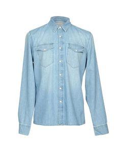 Джинсовая рубашка Sandro