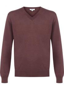 Пуловер из смеси шерсти и кашемира с шелком Brioni