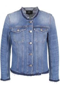 Джинсовая куртка с круглым вырезом 7 For All Mankind