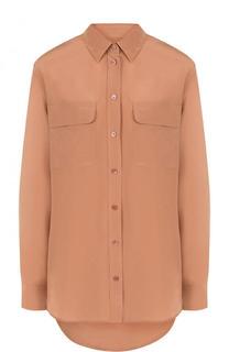 Шелковая блуза прямого кроя Equipment