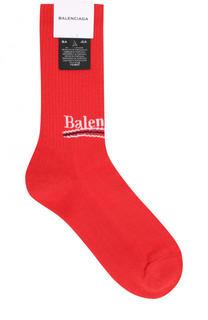 Хлопковые носки Balenciaga