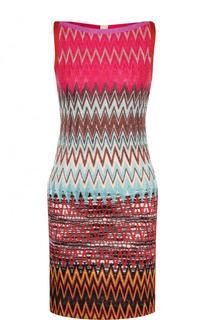Приталенное вязаное мини-платье Missoni