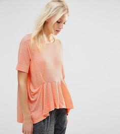 Топ с оборками Stitch & Pieces - Оранжевый