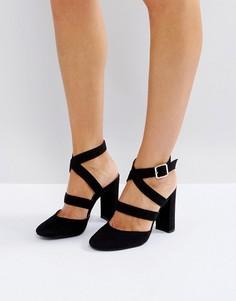 Туфли на высоком каблуке London Rebel - Черный