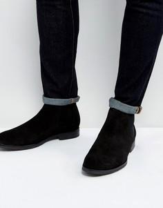 Черные кожаные ботинки челси Dead Vintage - Черный