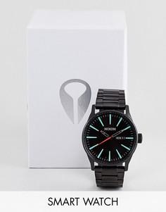Черные часы Nixon Sentry SS - Черный