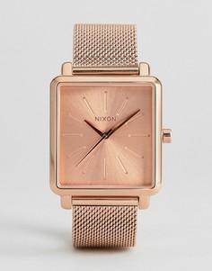 Часы цвета розового золота Nixon K Squared - Золотой