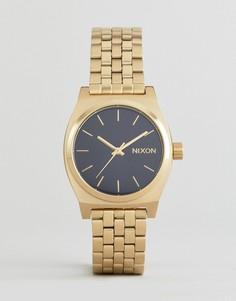 Часы Nixon Medium Time Teller - Золотой