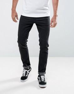 Черные выбеленные джинсы скинни LDN DNM - Черный