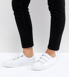 Кроссовки для широкой стопы с ремешками ASOS DIDI - Белый