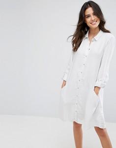 Платье-рубашка Vero Moda - Белый