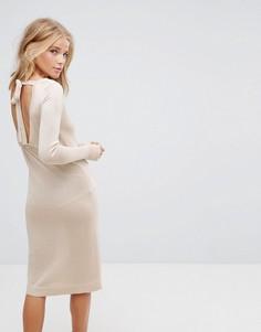Платье миди Vero Moda - Кремовый