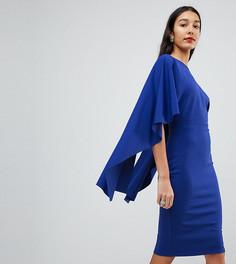 Платье миди с оборками City Goddess Tall - Мульти