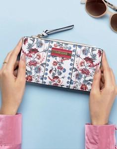 Узкий кошелек с цветочным принтом River Island - Мульти