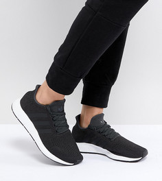 Черные кроссовки adidas Originals Swift Run - Черный