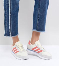 Кроссовки (бежевый/красный) adidas Originals Haven - Белый