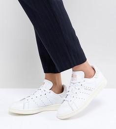 Кроссовки со вставками под кожу рептилии adidas Originals Stan Smith - Черный