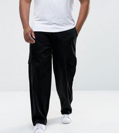 Черные брюки-карго Duke PLUS - Черный