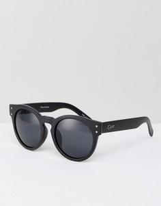 Солнцезащитные очки в черной оправе Quay Australia Invader - Черный
