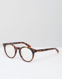 Очки с прозрачными стеклами Marc By Marc Jacobs - Коричневый