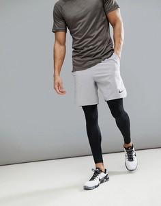 Серые спортивные шорты Nike Training Flex Vent Max 2.0 886371-027 - Серый