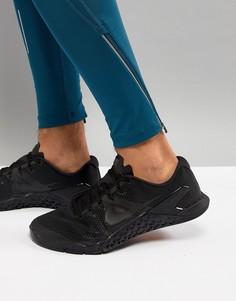 Черные кроссовки Nike Training Metcon 4 AH7453-001 - Черный