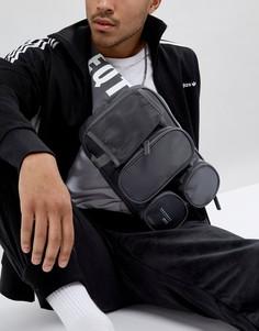 Серая сумка через плечо adidas Originals EQT CD6953 - Серый