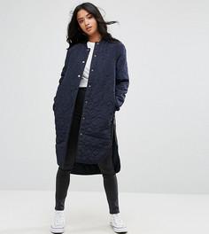 Стеганая куртка Noisy May Petite - Темно-синий