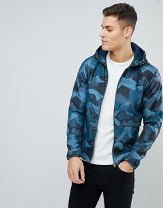 Легкая камуфляжная куртка Jack & Jones Core - Темно-синий