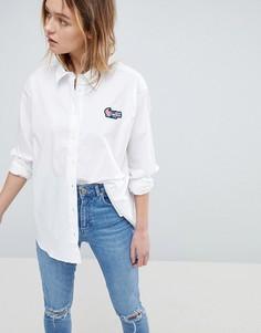 Рубашка Love Moschino Gumdrop - Белый