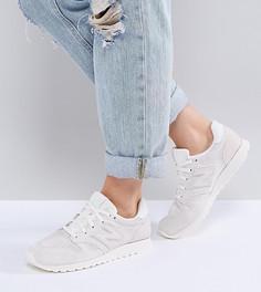Белые замшевые кроссовки New Balance 520 - Белый