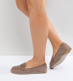 Туфли на плоской подошве для широкой стопы ASOS MEADOW - Бежевый